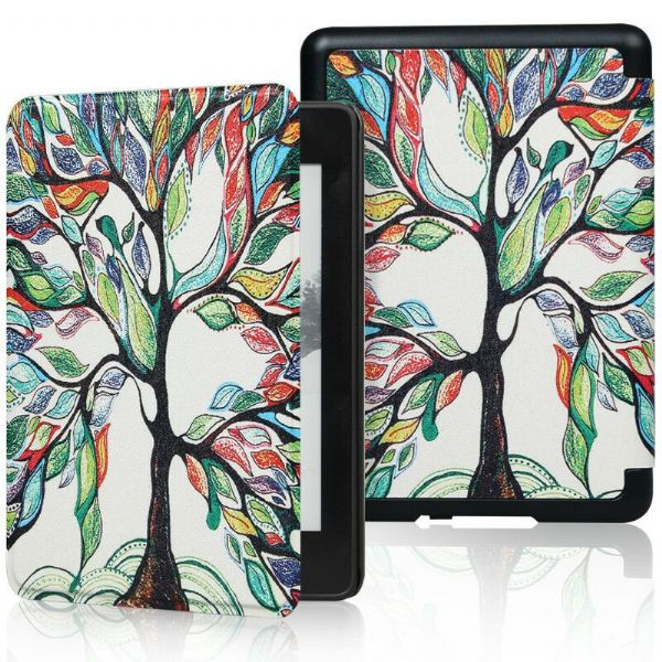 Kindle Paperwhite Art Case Cover Colourful Tree